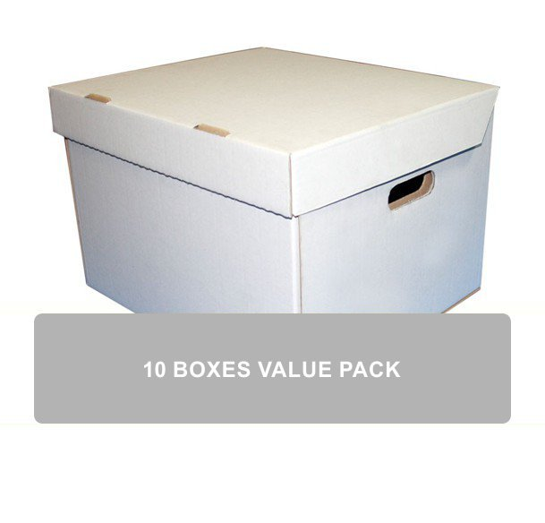Open White Cardboard Box  sc 1 st  Storage Giant & 10 x A3 Archive Storage Boxes | Buy Online