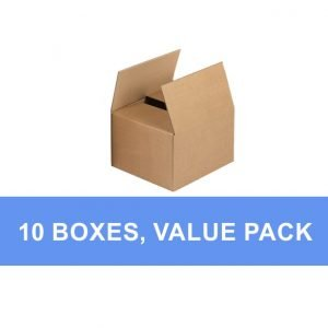 small cardboard box value pack