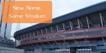 New Name, Same Stadium