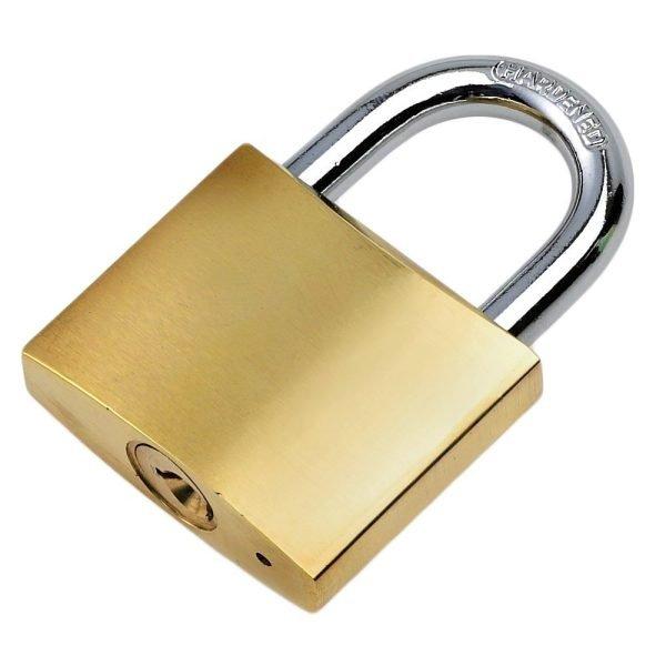 50mm bronze padlock