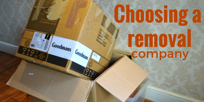 choosing a removal company blog header image