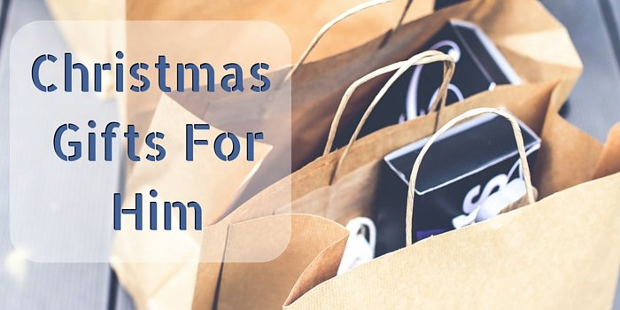 christmas gifts for him blog header image