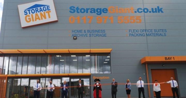 Bristol Storage Giant Fascia
