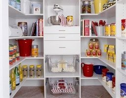 storing tips in cupboard