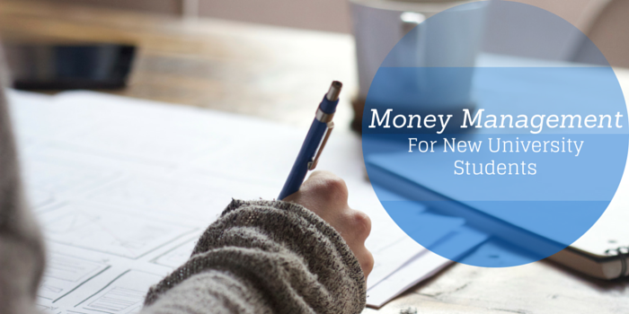 money management for uni students blog header image