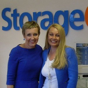 Storage Giant manager with Aggie Mackenzie from Storage Hoarders