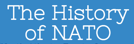 the history of nato blue header