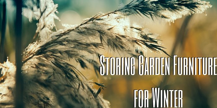 storing garden furniture for winter blog header image