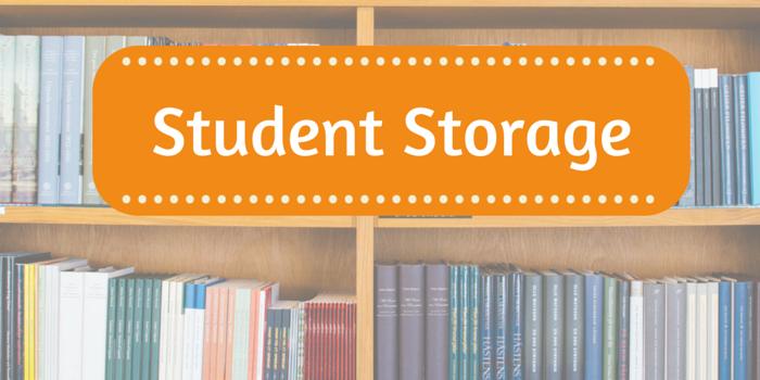 student storage header image with books