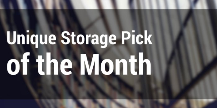 unique storage pick of the month header image