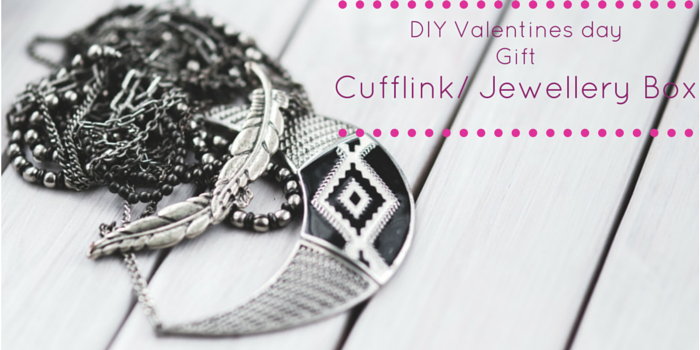 diy valentines day gift blog header image with jewellery