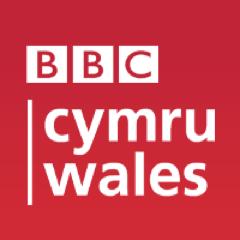 bbc cymru wales logo in red