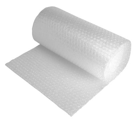 bubblewrap lying down and slightly unrolled