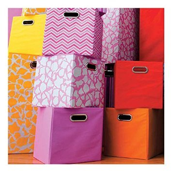 range of material boxes in different patterns