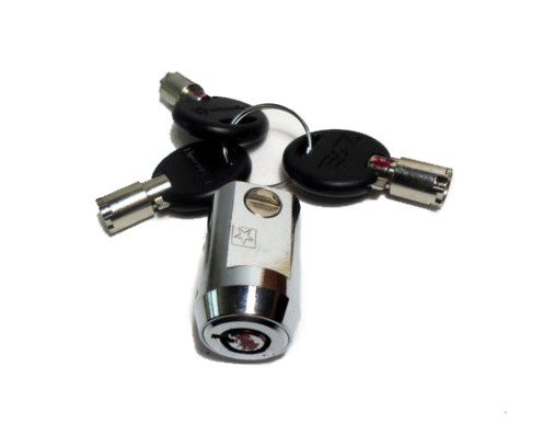 Self storage Lock with 3 keys